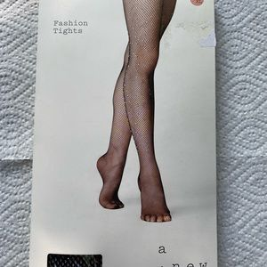 a new day Accessories - A New Day Fashion Tights Black Fishnet L/XL